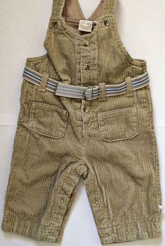 £4.99 Noukie's Baby Boys Cotton Dungarees - lined 68cm/6m #NoukiesSpain #Dungarees #designerboysclothes #winterclothesforboys #babyboysclothes