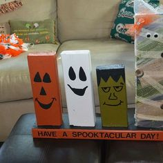 A FEW MORE HALLOWEEN CRAFTS FOR THE FRONT PORCH.