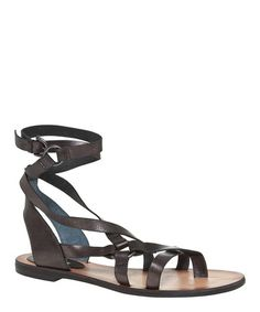 Loving this Pewter Verses Leather Gladiator Sandal on #zulily! #zulilyfinds
