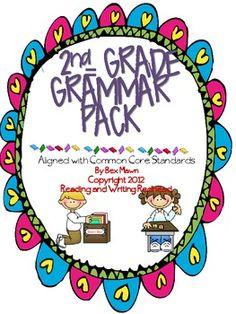 Second Grade Grammar Pack