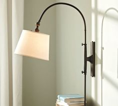 HOME DECOR – LIGHTING – SCONCE – Adjustable Arc Sconce, modern, wall sconces, Pottery Barn