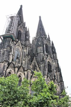 Cologne Cathedral, the High Cathedral is a Roman Catholic church