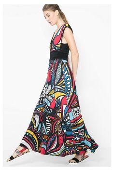 Robes Desigual Robe Jazmín