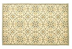 """One Kings Lane - Our Best Prices - 2'3""""x8' Penelope Outdoor Rug, Cream $89 2'3 x 8"""