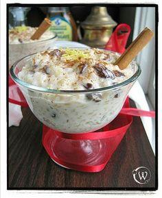 Coconut Milk & Brown Rice Pudding