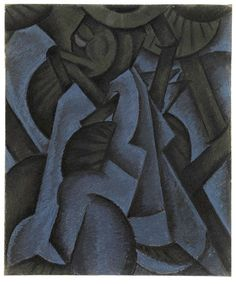 MoMA | Inventing Abstraction | Arthur Dove | Pagan Philosophy. 1913