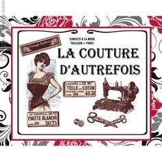 Broderie Point de Croix Pique-aiguilles la couture d'autrefois Marie Coeur 1149.4813 - La Maison du Canevas et de la Broderie