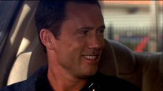 """""""I ever tell you you're the reason I drink Mikey?"""" [Sam Axe]   Pictured: Michael Westen (Jeffrey Donovan)"""