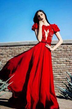 Red dress !