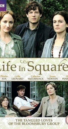 Life in Squares (TV Mini-Series ) - IMDb : With Eve Best, Ed Birch, Phoebe Fox, Andrew Havill. An intimate and emotional drama for BBC Two about the revolutionary Bloomsbury group. James Norton, Love Movie, Movie Tv, Movies To Watch, Good Movies, Period Drama Movies, British Period Dramas, Eve Best, Bloomsbury Group