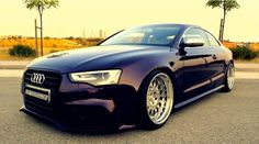 Wow.. I'd love to drive this Audi down Hollywood Blvd. Perfect Style and Stance in my book. Picture from Audi Scene