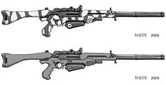 Rifts Assault Laser by VulnePro.deviantart.com on @deviantART