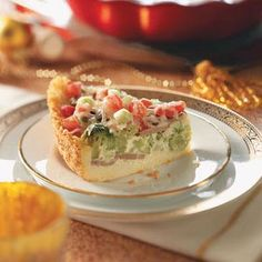 Veggie Couscous Quiche  This looks really good. I'm trying it this week