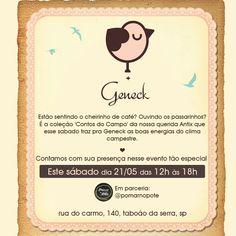 Convite Antix Day Geneck