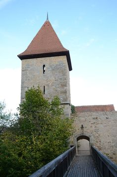 Dinkelsbühl - Germany - Oberer Mauerweg - Wächtersturm