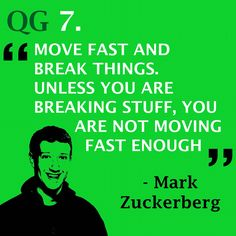 Smash records and break barriers  #quote #markzuckerberg