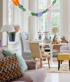 Inspirez-vous de styles anciens et nouveaux, et d'objets design ou récupérés pour donner la touche finale à votre intérieur Creative Bohemian, à l'aide d'un mélange innovant de textures, de couleurs, de styles et de tissus.