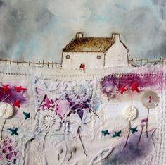 'Signs of spring'  by Louise O'Hara of DrawntoStitch www.drawntostitch.com