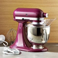 KitchenAid ® Artisan Boysenberry Stand Mixer | Crate and Barrel