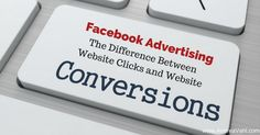 """One of the questions that I get asked often when people are starting a Facebook ad is which Objective they should choose, Website Clicks or Website Conversions. The language on the Facebook objectives area has changed a little – you have to choose either """"Send people to your website"""", aka Website Clicks, or """"Increase conversions …"""