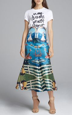 Curiouser Long Skirt by Alice McCall for Preorder on Moda Operandi