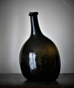 Antiques Atlas - English 18th Century Bladder Wine Bottle