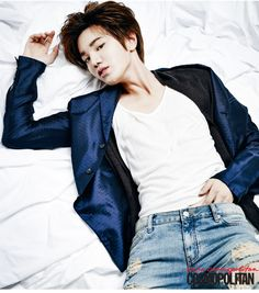 Sung Jong Infinite F - Cosmopolitan Magazine January Issue '15