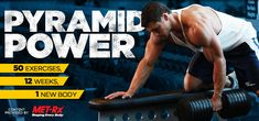 Bodybuilding.com - Pyramid Sets - 50 Exercises, 12 Weeks, 1 Transformed Body - Yours!