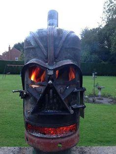A fan's dream of a fire-pit!