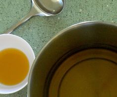 Mixing those lush oils: olive, meadowfoam seed and rice bran oils and mango butter.