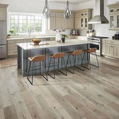 Hickory Flooring, Grey Flooring, Home Flooring, Mannington Flooring, Flooring Ideas, Farmhouse Flooring, Best Wood Flooring, Bruce Flooring, Ideas