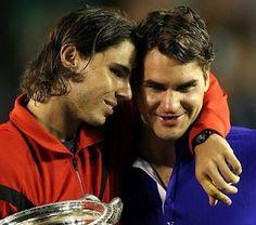Rafa Nadal & Roger Federer