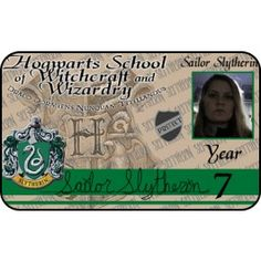 Fun with ID's. Witchcraft and Wizardry Hogwarts