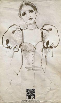 Biba McCalls Pattern c1970