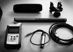 Good audio is crucial, and you can't go wrong with a Rode Ntg-2 shotgun mic and the H4n recorder.