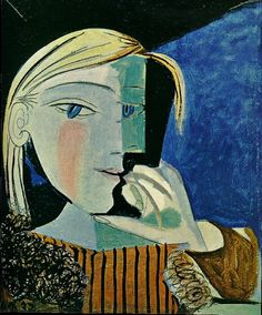 Pablo Picasso - Portrait of Marie-Therese 4, 1937