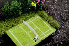 Guerrilla gardening. Nice nice.