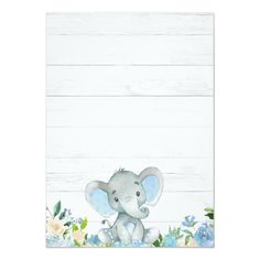 Blue Elephant Baby Shower Invitations for a Boy - Shower . - Blue Elephant Baby Shower Invitations for a Boy – - Elephant Baby Showers, Baby Boy Shower, Elephant Bleu, Baby Elefant, Baby Shower Invitaciones, Baby Shawer, Baby Blue, Rustic Baby, Baby Shower Invitations For Boys