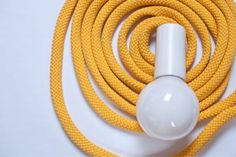 Loop Line Lamp by PaniJurek on Etsy Light Images, Clever Design, Line, Light Bulb, Glow, Creative, Interior, Handmade, Inspiration