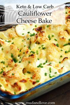 A delicious keto cauliflower cheese – rich and packed with the flavour of baked cream and melted cheese, coming in at carbs per generous serving Califlower And Cheese, Baked Califlower, Califlower Casserole, Cauliflower Cheese Bake, Califlower Recipes, Fresh Spinach Recipes, Veggie Recipes, Dinner Recipes, Veggie Keto