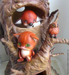 Купить Игрушка из папье-маше.Рыжик. - рыжий, кот, котейка, рыжик, папье маше, шарик
