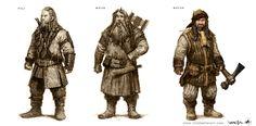 The Hobbit, part I - The Art of Nick Keller