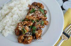 Easy Pressure Cooker Recipes: Honey Sesame Chicken - Thrifty Jinxy