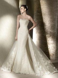UBK UsereBrautKleider--Modern Herzförmig Lang Lace Hochzeitskleid
