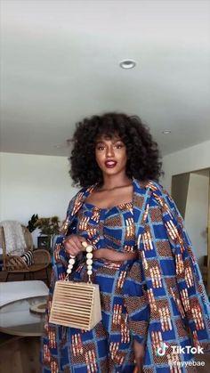 pretty gorgeous beautiful - ©️ to fayyebae on tiktok Short African Dresses, Latest African Fashion Dresses, African Print Dresses, Ankara Fashion, African Prints, African Fabric, African Ankara Styles, Ankara Styles For Women, African Print Dress Designs