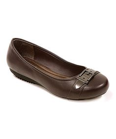 Love this Brown Ballet Flat on #zulily! #zulilyfinds