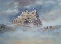 Lindisfarne Castle, Northumberland, England by Joe Hush