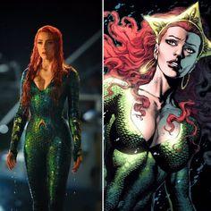 New look at Amber Heard as Mera from Aquaman