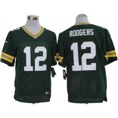 722ab3996 Nike Packers Aaron Rodgers Green Team Color Mens NFL Elite Jersey And Taco  Charlton 97 jersey