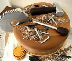 Cake for the handyman in your life